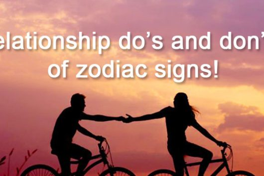 relationship and zodiac